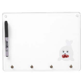 Seal is crying Zr2rw Dry Erase Board With Keychain Holder