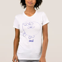 Seal Ladies Petite T-Shirt