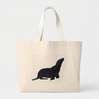 Seal Large Tote Bag