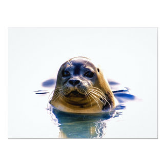SEAL ME A KISS! 6.5X8.75 PAPER INVITATION CARD