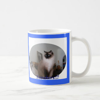 Seal Mitted Ragdoll Cat, Sneakers!!! Coffee Mug