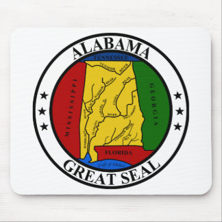 Seal of Alabama Mouse Pad