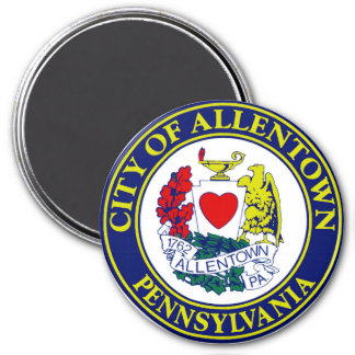 Seal of Allentown, Pennsylvania Magnet