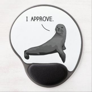 Seal of Approval Gel Mouse Pad