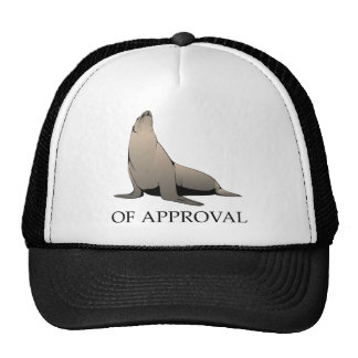 Seal Of Approval Mesh Hat