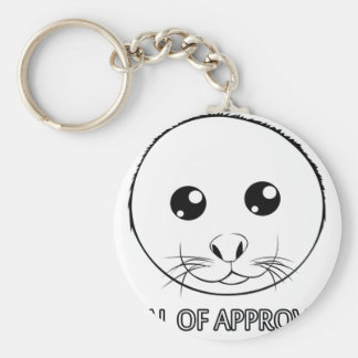 Seal of Approval Keychain