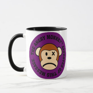 Seal of Approval: Message endorsed by Angry Monkey Mug
