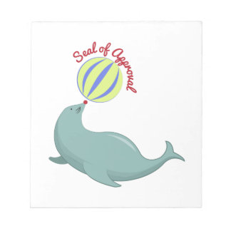 Seal of Approval Memo Notepad