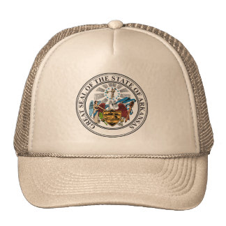 Seal of Arkansas Trucker Hat