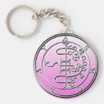 Seal of Asmoday Asmodeus Basic Round Button Keychain