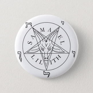 Seal of Baphomet Pinback Button