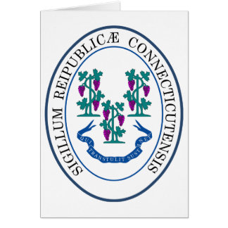 Seal of Connecticut Card