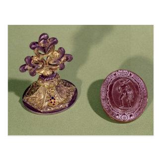 Seal of Cosimo de Medici Postcard
