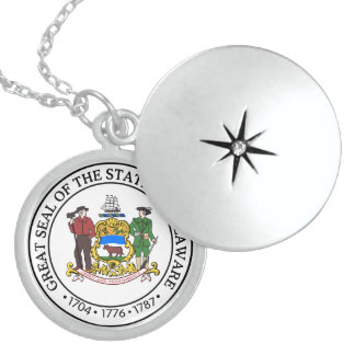 Seal of Delaware Pendant