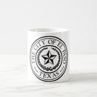 Seal of El Paso Classic White Coffee Mug