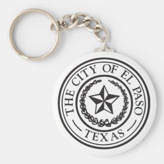 Seal of El Paso Keychain