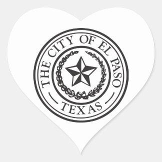 Seal of El Paso Sticker