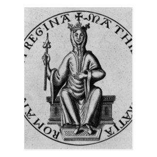 Seal of Empress Matilda Postcard