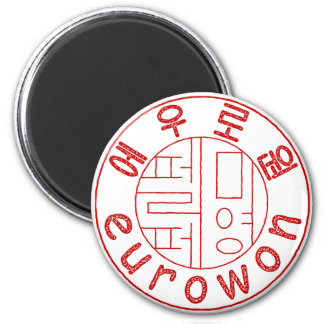 Seal of Eurowon 2 Inch Round Magnet