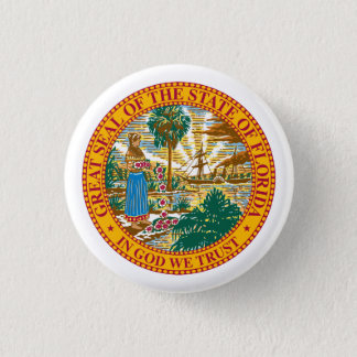 Seal of Florida Pinback Button