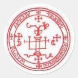 Seal of Gabriel Classic Round Sticker