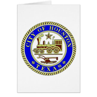 Seal of Houston Stationery Note Card