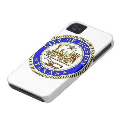 Seal of Houston Blackberry Bold Case
