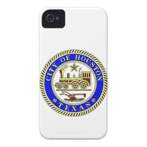Seal of Houston iPhone 4 Case-Mate Cases