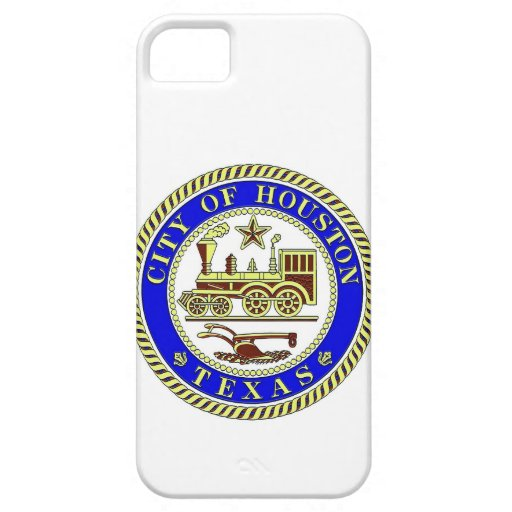 Seal of Houston iPhone 5 Cover
