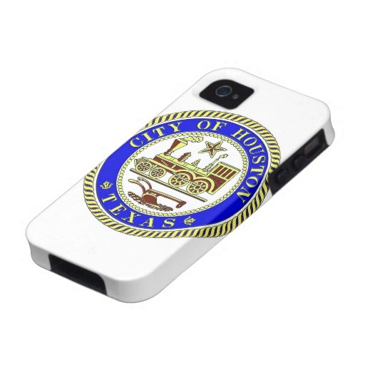Seal of Houston Vibe iPhone 4 Cover