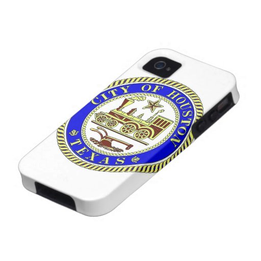 Seal of Houston Vibe iPhone 4 Covers