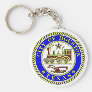 Seal of Houston Keychain