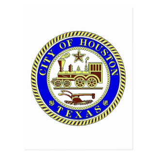 Seal of Houston Postcard