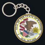 "Seal of Illinois Keychain<br><div class=""desc"">Seal of Illinois Keychain</div>"