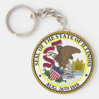 Seal of Illinois Keychain