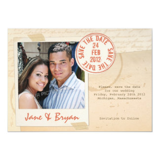 Seal of Love - Save the Date Card