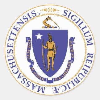Seal of Massachusetts Stickers