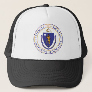 Seal of Massachusetts Trucker Hat