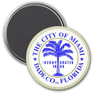 Seal of Miami, Florida Magnet
