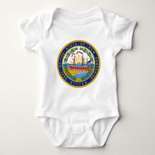 SEAL OF NEW HAMPSHIRE BABY BODYSUIT