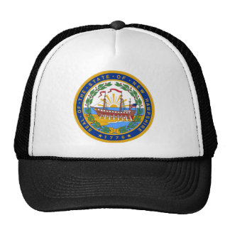 SEAL OF NEW HAMPSHIRE TRUCKER HAT