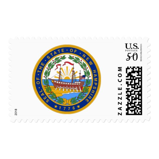 SEAL OF NEW HAMPSHIRE POSTAGE