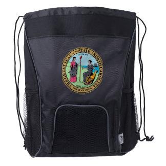 Seal_of_North_Carolina Drawstring Backpack
