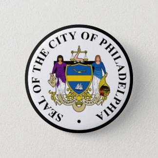 Seal of Philadelphia, Pennsylvania Pinback Button