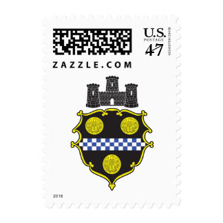 Seal of Pittsburgh Postage