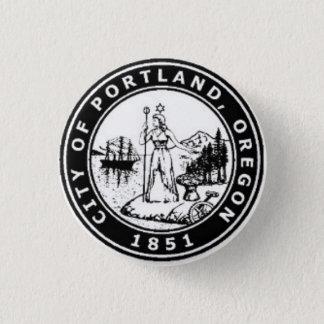 Seal of Portland, Oregon Pinback Button