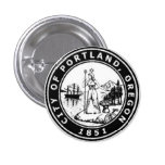 Seal of Portland, Oregon Pins