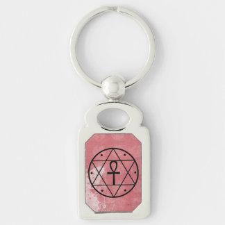 Seal of Solomon Ankh Premium Lucky Keychain