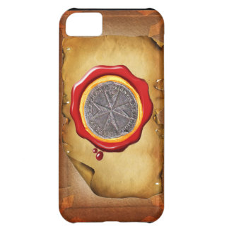 Seal of St. Stephen Tuscany Medici WAX parchment Cover For iPhone 5C