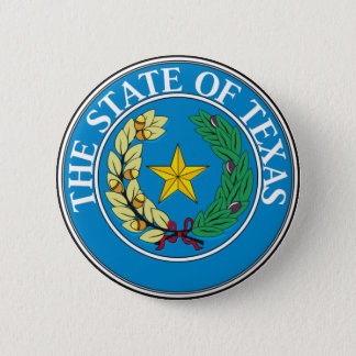 Seal of Texas Pinback Button
